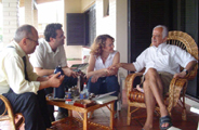 Ruas, Robaina, Luciana e Simon