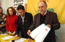 Após denúncias de Lair Ferst, Pedro Ruas anunciou que partido decidiu abrir mão de CPI e exigir processo de impeachment (Camila Domingues)