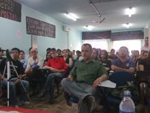 Debate na Unipampa, em Bagé
