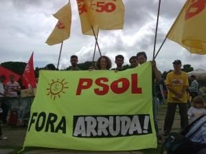 PSOL na luta contra Arruda
