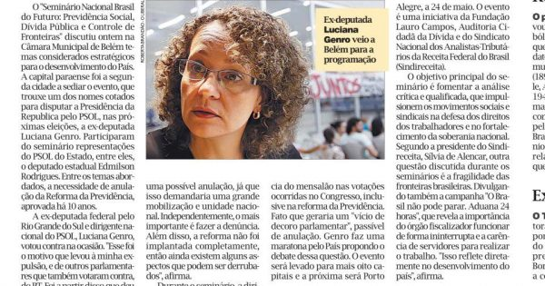 Câmara Municipal de Belém recebe seminário sobre a Previdência