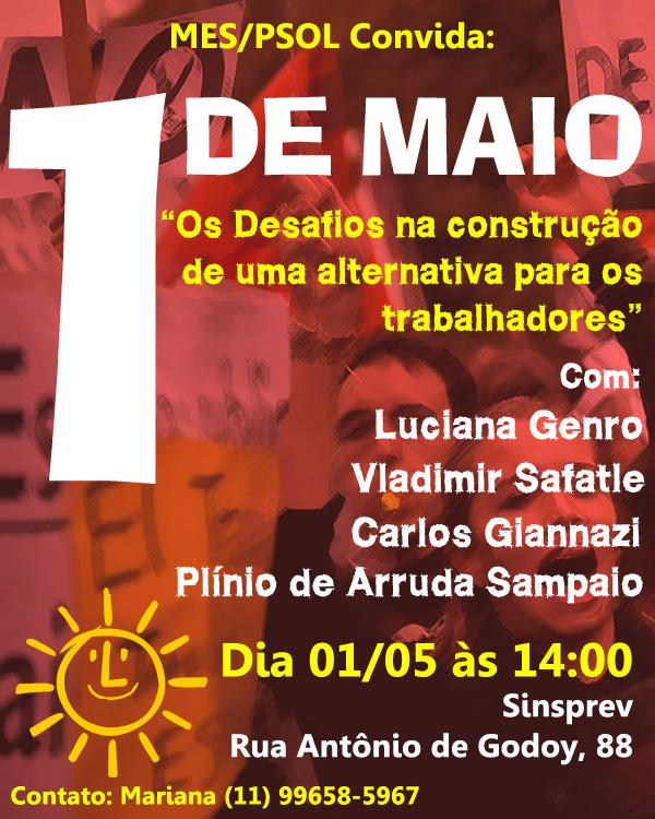 Plenária MES-PSOL convida 2013