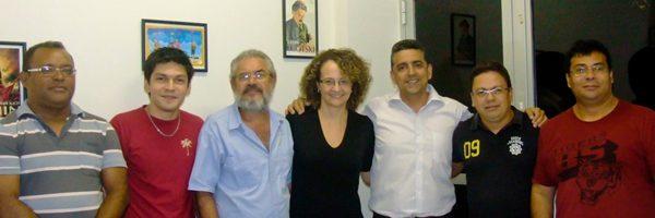 Luciana Genro se reúne com lideranças do Pará