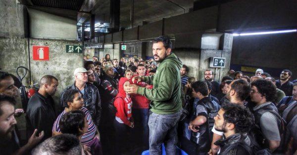 A hora é essa! Viva a Greve dos Metroviários e as lutas do povo!
