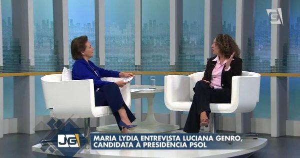 Jornal da Gazeta entrevista Luciana Genro