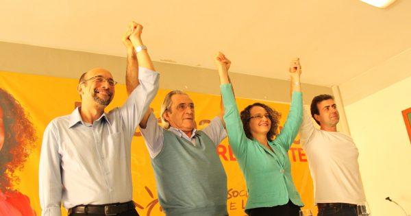Em clima de unidade, PSOL referenda candidatura de Luciana Genro à Presidência da República