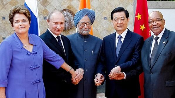 Presidentes dos países que compõem os BRICS