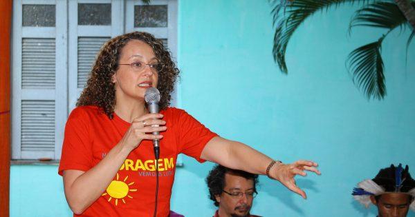 Luciana Genro propõe a criação do Ministério da Ecologia e Justiça Socioambiental em lançamento do programa ecossocialista no Ceará