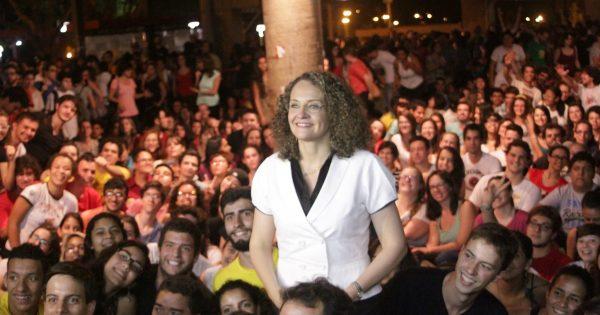 Mais de 3 mil jovens lotam sabatina com Luciana Genro em Campinas