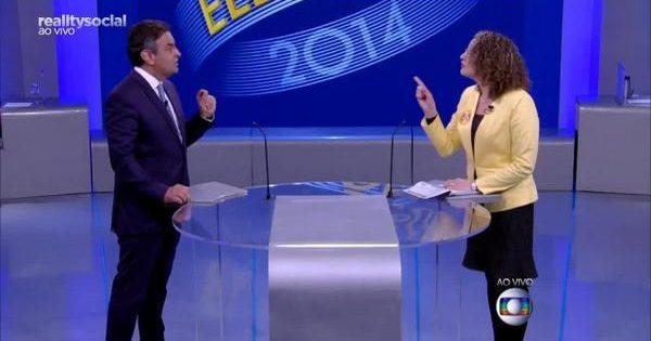 Luciana Genro confronta Dilma, Marina e Aécio no debate da TV Globo