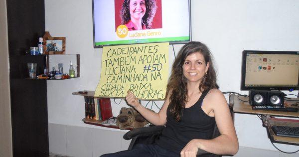 03/10: Mais de mil pessoas confirmadas em caminhada com Luciana Genro em Porto Alegre