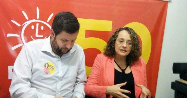 #FechoComLuciana50: Em comício virtual, Luciana Genro conclama eleitores a votar no PSOL