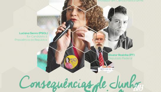 Luciana Genro vem a Curitiba para participação em debates