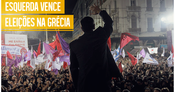 Esquerda vence eleições da Grécia