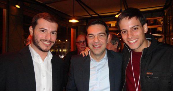PSOL na Grécia: O histórico comício de Omonia