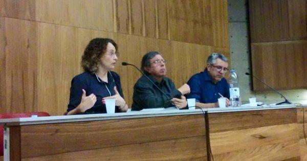 """""""O PT se transformou no aplicador do modelo neoliberal"""", diz Luciana Genro em debate com Alexandre Padilha"""