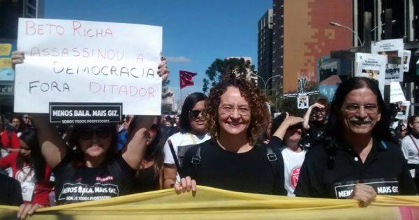 Um 1 de maio pautado pela luta e apoio aos trabalhadores do Paraná