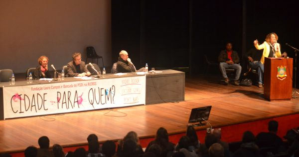 """Seminário """"Cidade Para Quem?"""" propõe reflexão sobre problemas urbanos e luta anticapitalista"""