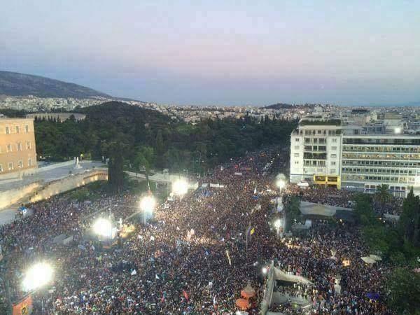 Vitória do NÃO na Grécia