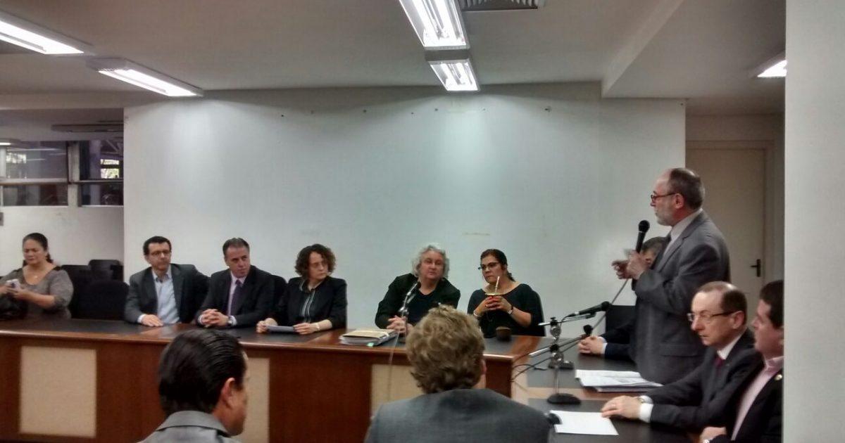 Pedro Ruas Lançamento da Frente Parlamentar pela Suspensão do Pagamento da Dívida do Estado com a União