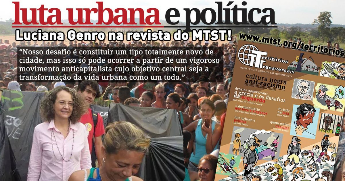 Luta urbana e política MTST