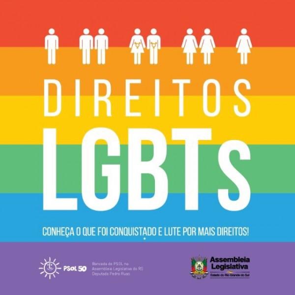 Cartilha LGBT do PSOL reúne análises políticas, indicações de filmes e livros e glossário de termos relacionados à diversidade sexual e de gênero