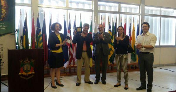 PSOL gaúcho homenageia Chico Alencar na luta pelo #ForaCunha