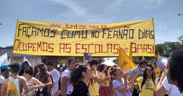 Que a luta dos estudantes de São Paulo se espalhe pelo Brasil