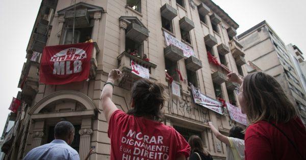 Todo apoio à ocupação Lanceiros Negros em Porto Alegre