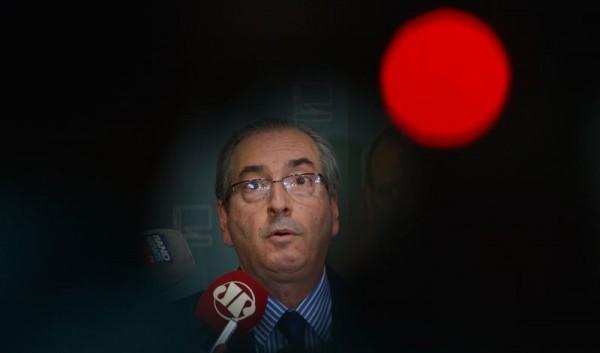 Eduardo Cunha sofreu derrota no STF mas foi aliviado com decisão de Teori de analisar somente em fevereiro seu afastamento | Valter Campanato/Agência Brasil)