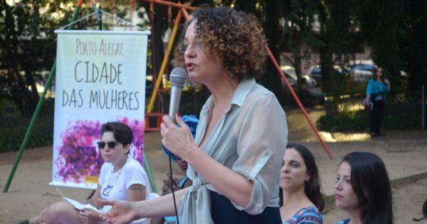 """""""Criar em Porto Alegre uma cidade das mulheres é um desafio de subversão"""", diz Luciana Genro"""