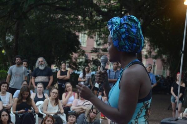Winnie Bueno destacou a luta das mulheres negras nas cidades e o combate ao genocídio do povo negro