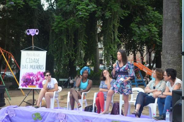 Rosana Pinheiro-Machado lembrou que o direito à cidade sempre foi pensado por homens e para homens