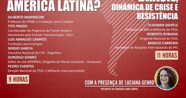 Crise e resistência na América Latina e no Brasil