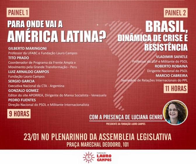 Crise e resistência na América Latina