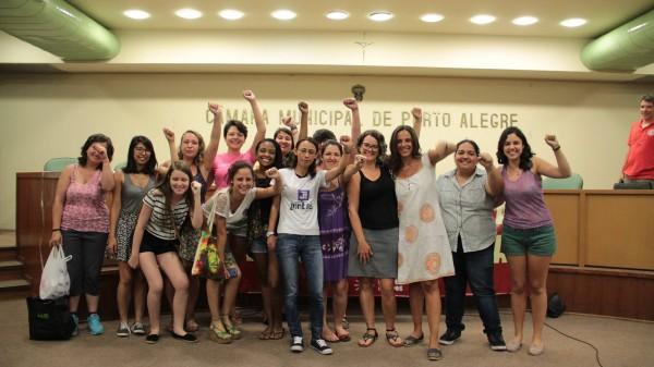 Melike Yasar recebeu o apoio do coletivo Juntas!