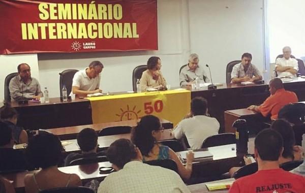 Seminário internacional do PSOL reuniu dirigentes da esquerda latino-americana