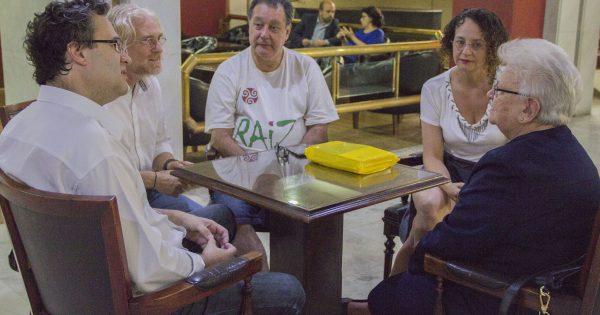 Luciana Genro se reúne com Luiza Erundina para falar sobre radicalização da democracia
