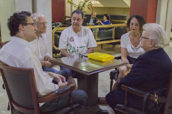 Luciana Genro e Roberto Robaina se reuniram com Luiza Erundina e lideranças do Raiz Movimento Cidadanista | Foto: Adria Meira