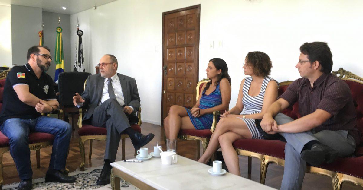 Reunião do PSOL com chefe de polícia