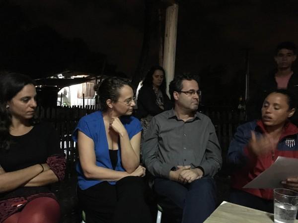Luciana Genro destacou necessidade de se impulsionar a luta por moradia em Porto Alegre