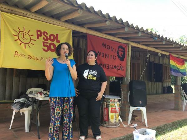 Lançamento da pré-candidatura de Berna Menezes