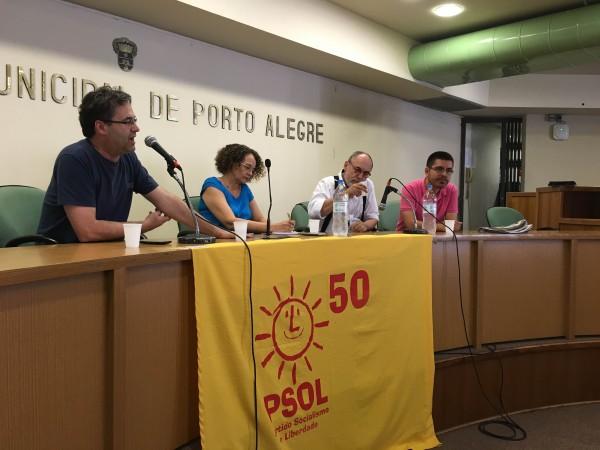 Roberto Robaina destacou a necessidade de o PSOL se construir como uma opção autêntica de esquerda