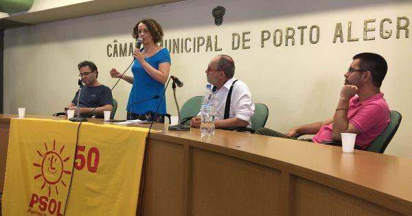 Plenária do PSOL inicia debate de um programa para Porto Alegre