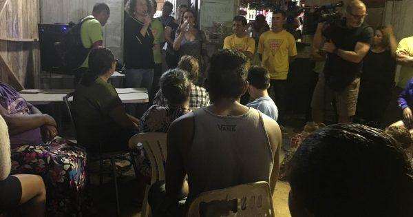Ocupação Campo Grande se mobiliza pelo direito à moradia