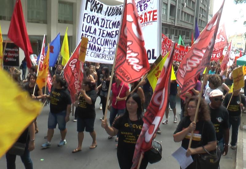 Protesto Terceiro Campo
