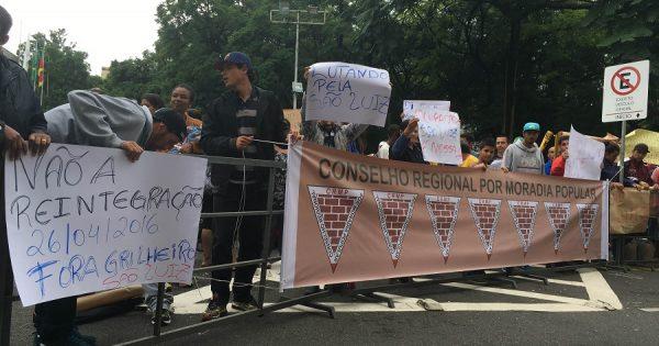 Ocupação São Luís se mobiliza contra reintegração de posse