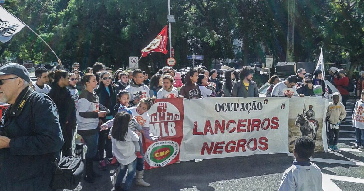 Lanceiros Negros se mobiliza contra reintegração de posse