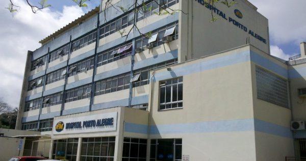 Trabalhadores do Hospital Porto Alegre reivindicam pagamento de salários