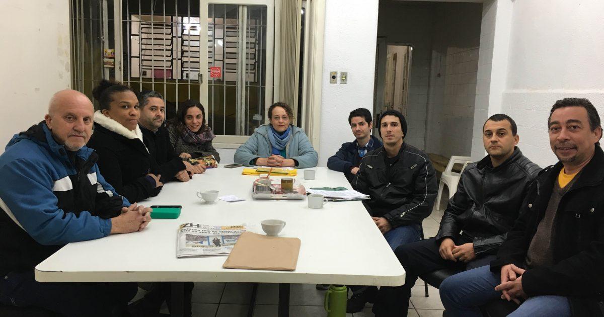 Reunião com Guardas Municipais